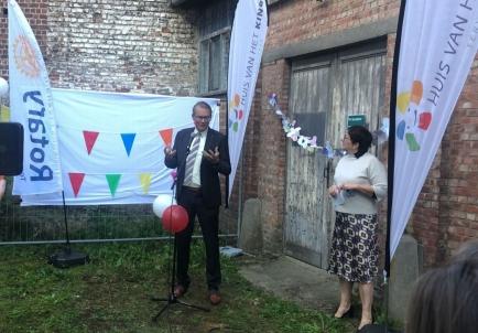 Rotary Club Tervuren President speech at the opening of the Speelsboeb Tervuren