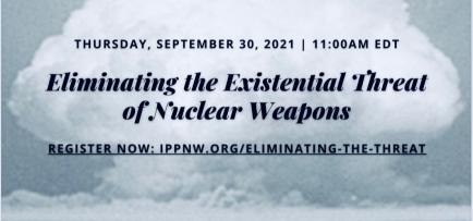 Shekhar Mehta, president van Rotary international bespreekt het VN-Verdrag inzake het verbod op kernwapens