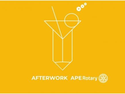 Afterwork drink met clubleden, partners en mogelijk geïnteresseerde mensen.